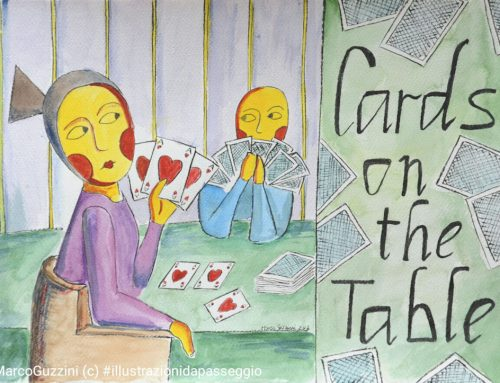 Carte sul tavolo