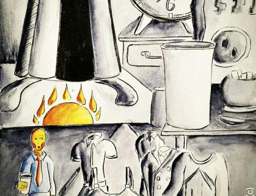 Una storia di caffè, Breve illustrazione Narrata