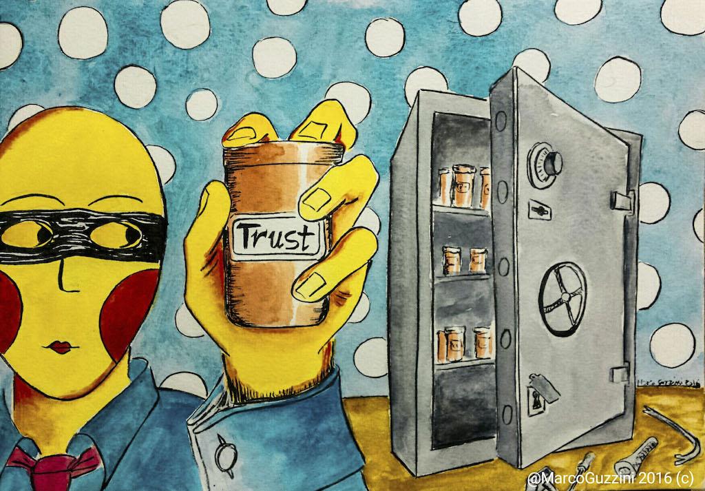 senza alcun clamore Breve illustrazione Narrata : il furto