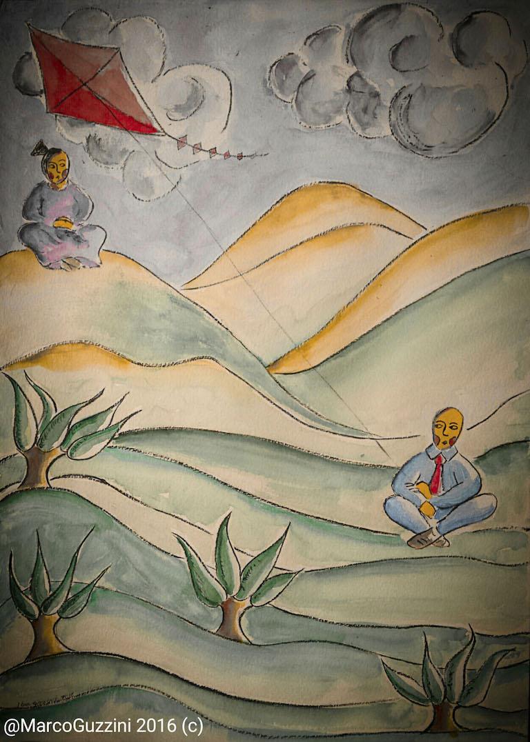 Ti penso, Breve Illustrazione Narrata illustrazione da passeggio Ti penso Brevi illustrazioni Narrate