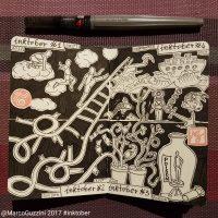 inktober sketchbook marco guzzini
