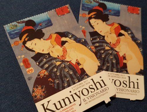 Kuniyoshi in Mostra a Milano : la mia visita