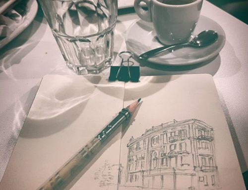 Gite sul lago di Como e Chioggia  per il mio Sketchbook