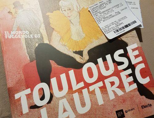 La Mostra di Toulouse Lautrec a Milano : la mia visita