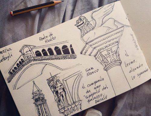 Una giornata a Venezia (Schetchbook)